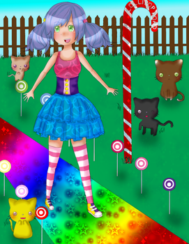 Collab# 1: Candy World by Harajuku-Lollipop