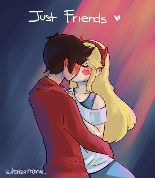 We will be.. Just friends by Whatsernnamee