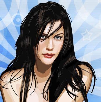 Liv Tyler vector by DGato