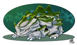 PKMNation - Fairy Fusion Rhyhorn Looking for Home