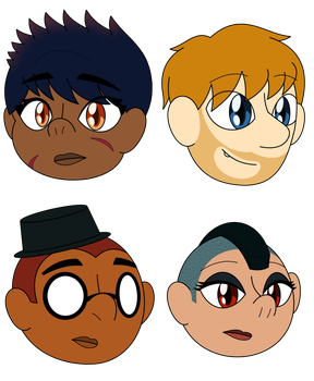 I was bored so I drew human babs by GamingInGreen13