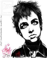 Billie Joe Armstrong - Tablet by IwannaPissInYourBed