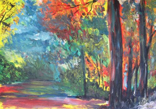 Forest of colours by pdenardi