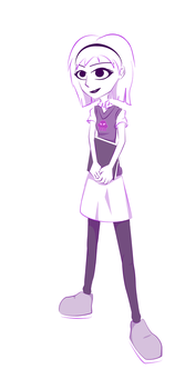 Rose Lalonde in Prep Clothes by TechSketching