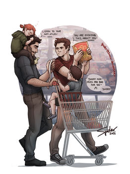 Grocery Shopping by spider999now