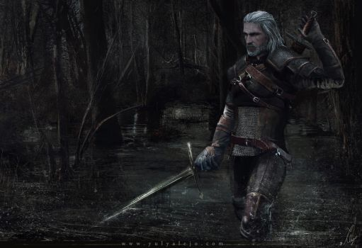Ladies of the woods- The witcher3 wild hunt fanart by EngendrARTE