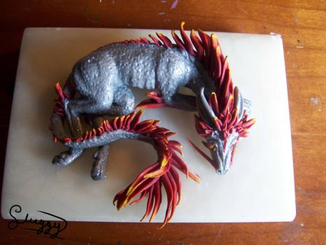 Eastern Canini Dragon sculpture Auction - RELISTED by hugmachine14
