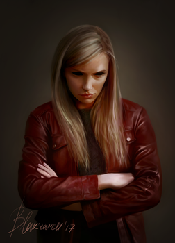 Red jacket by Blakravell