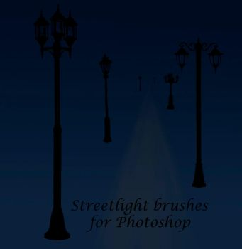 Streetlightbrushes for PS by yuele