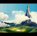 The Castle which touch the sky by ramoneuse-de-menhirs