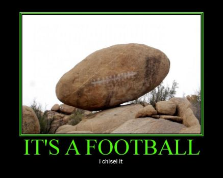 It's a football... by MrRizzo