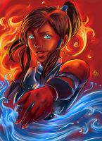The Legend of Korra by Of-Red-And-Blue