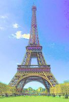 Tickling France with Pastels by MarieMoore91