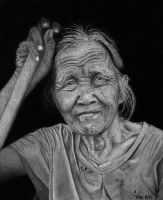 Indonesian Street Sweeper by kennyc
