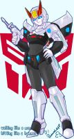 TF - Femme Prowl G1 by plantman-exe