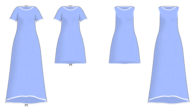 MMD Simple Gown DL by 2234083174