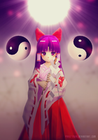 The Miko by Pokie-Punk