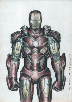 Iron Man clor by eltonramalho