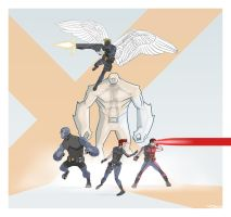 REDESIGN: X-MEN by Toks-S