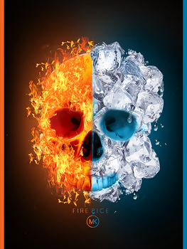 Fire And Ice by Maniakuk