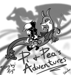 Pi and Pea's Adventures FA by EchoSongs