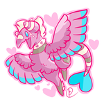 Art Trade:Valentine by Toldentops
