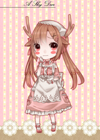 Adoptable 07 .:A Shy Deer:. AUCTION CLOSED by s-p-ri-ng