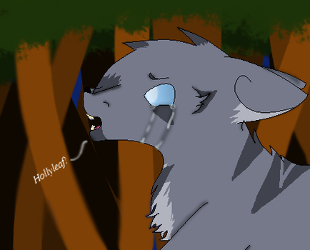 Jayfeather 'Don't go' by ScourgesKit