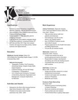 Resume by migratingevilpoo