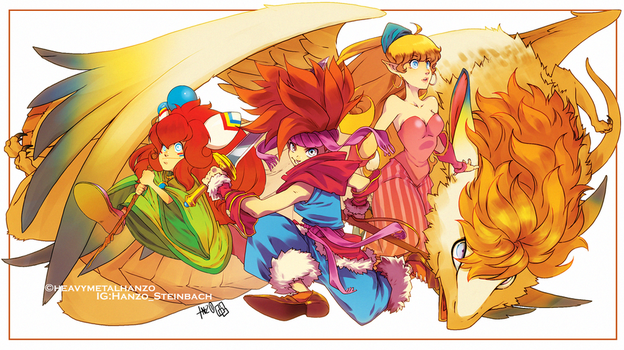Secret of Mana by HeavyMetalHanzo