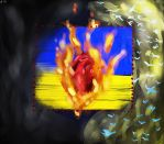 The heart of Ukraine by Ameretty