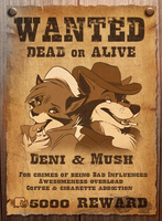 Wanted Dead Or Alive (Video Included) by SilverDeni