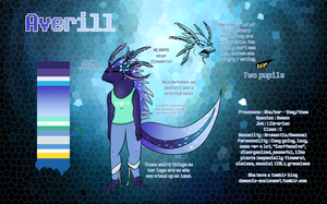 Averill reference sheet by BIacat