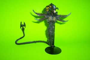 7-Inch Scale Snake Alien Custom Action Figure by Drakhand006