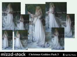Christmas Goddess pack 3 by mizzd-stock
