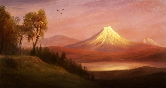 Practice - Albert Bierstadt by Winterkeep
