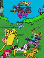 My Little Adventure Time Pony by Sethmonster