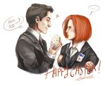 FANART ~ X-Files, SketchPaint, Happy Easter ! by Calicot-ZC