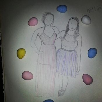 Easter Prom gurlz by SerendipityDucky