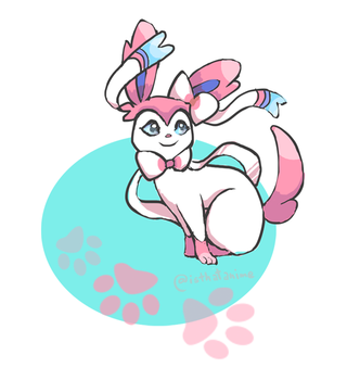 Sylveon by Phinnimonster