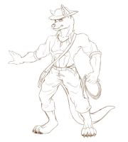 Comision  Sketch - James by chicajamonXD