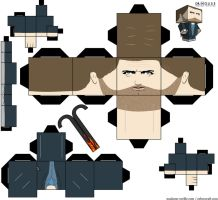 House Paper Toy by MadameOreille