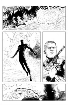 DOC SAVAGE ROF 1 3 pencils by Dave-Acosta