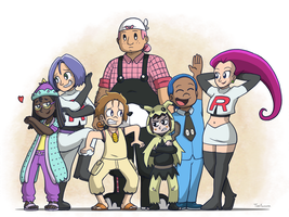 Sun/Moon Team Rocket by ToonYoungster