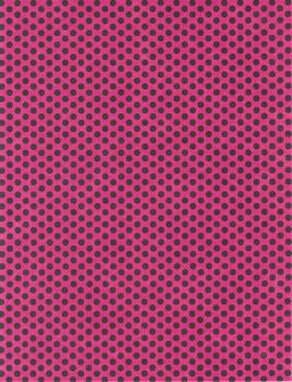 Pink with Black Polka Dots by FredtheCow-Stock