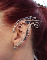 Bat out of hell. Ear cuff. by alina-loreley on DeviantArt