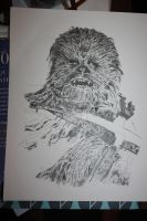 Chewbacca WIP4 by Bluelisamh