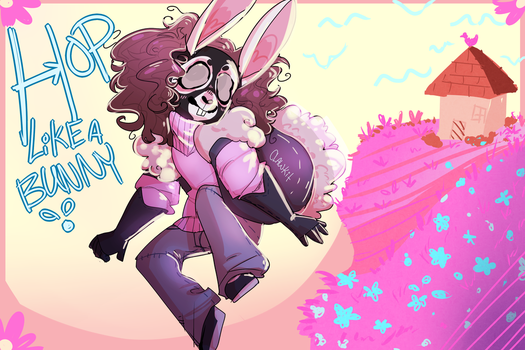 ::Hop Like A Bunny!:: by Claw-kit