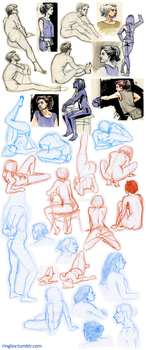 figure drawing dump by ringlov