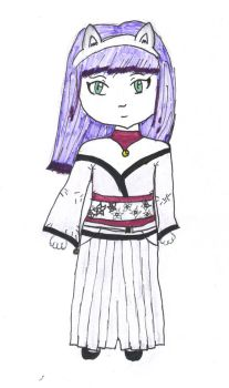 Chibi Serek colored by Delimei